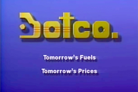 <p><strong>Figure 1.2</strong> We find the same graphics we see in Total Recall in a 1985 computer animation demo by PDI, at the end of a commercial for their fictional Botco filling station.<br /></p>