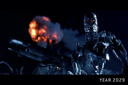 """<p><strong>Figure 1.3</strong> Cyberdyne Systems products of the future, as they are created by the sentient AI known as """"Skynet,"""" include the Terminator, which comes in a variety of makes and models.</p>"""