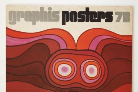 <p><strong>Figure 3.4</strong> A look at the 1970s Graphis Poster Annual logotype. Southwell got the inspiration for his typographic solution from the 1978 issue. Source: Photo by Julian Montague via Instagram</p>