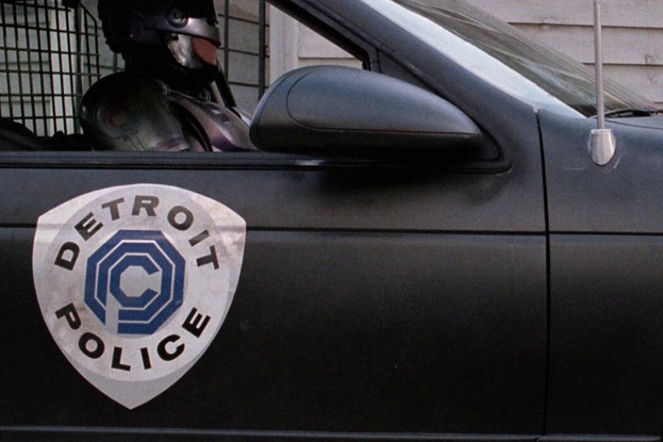 <p><strong>Figure 5.4</strong> A closer view of the Police shield as it appeared on police cars.</p>