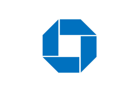 <p><strong>Figure 1.3</strong> The Chase Bank logo designed by Chermayeff and Geismer in 1961. Probably one of the world's most recognizable abstract logos, as far as faceless corporate identities go. Source: <em>Chermayeff and Geismer</em></p>