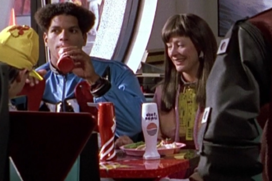 <p><strong>Figure 2.4</strong> If you look in the background of scenes in the Cafe 80s, you can see people drinking other Pepsi products like Slice and Diet Pepsi.</p>