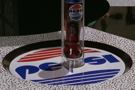 <p><strong>Figure 3.3</strong> The Pepsi logo as it appeared on bottle dispensing countertops in Cafe 80s, from which Marty receives his Pepsi Perfect order.</p>