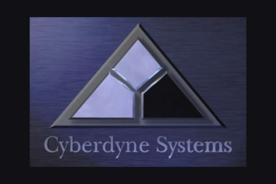 <p><strong>Figure 5.2</strong> While I'm not certain of the images original source, the mark behind the Skynet terminal login appears to be based on this image of the Cyberdyne Systems logo, that was posted to the Fandom Terminator Wiki.</p>