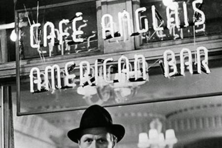 <p><strong>Figure 2.3</strong> Neon letter bar signage as seen in a still from the 1950 classic noir film, <em>Night and the City</em>. Source: Toronto Film Noir Syndicate</p>
