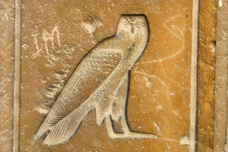 <p><strong>Figure 2.5</strong> A number of cultures view the owl as a symbol of death. The ancient Egyptians saw it as such, and also employed it as a hieroglyph. Source: <em>Egyptian Geographic</em></p>