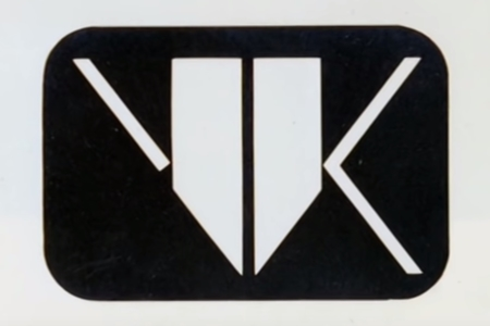 <p><strong>Figure 2.2</strong> The final V-K logo design by Tom Southwell. Source: <em>Signs of the Times</em> (2007)</p>