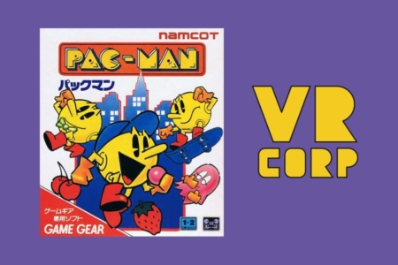 <p><strong>Figure 3.1</strong> The PAC-MAN logotype is probably what comes to mind for most readers, when they see the VR CORP logo reduced to simpler geometry.</p>